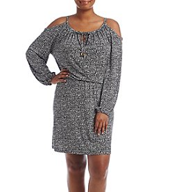 MICHAEL Michael Kors® Plus Size Thora Cold Shoulder Dress
