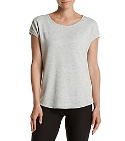 Calvin Klein Performance Keyhole Split Back Top