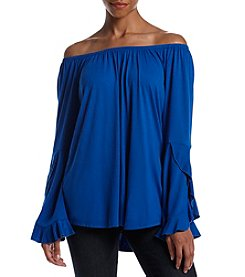 NY Collection Off Shoulder Top