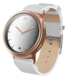 Misfit Phase™ Rose Goldtone Leather Strap Hybrid Smartwatch