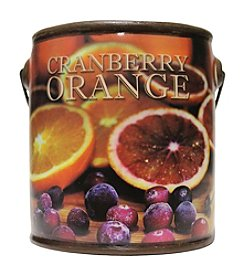 Farm Fresh 20-oz. Cranberry Orange Candle in Ceramic Jar