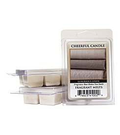 Cheerful Candle 6 Pack Luxurious Linen Fragrant Wax Melts