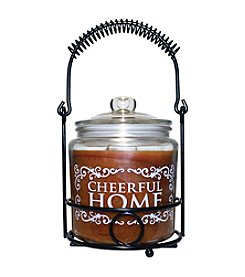 Cheerful Home 26-oz. Honey Pear Cider Candle Set
