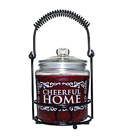 Cheerful Home 26 oz. Juicy Apple Candle Set