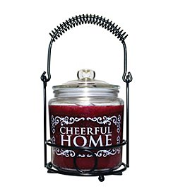 Cheerful Home 26 oz. Cranberry Orange Candle Set