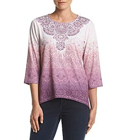 Alfred Dunner® Printed Tee