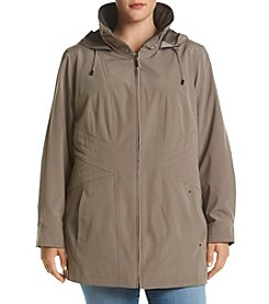 Gallery® Plus Size Rain Coat