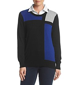 Studio Works® Colorblock Sweater