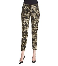Jones New York® Printed Ankle Pants