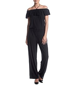 Jones New York® Off the Shoulder Jumpsuit