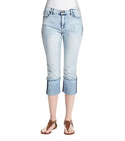 Jones New York® Janis Wash Cuff Bleecker Jeans
