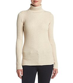 Ruff Hewn Rib Turtleneck Sweater