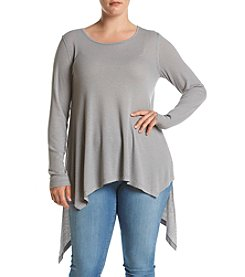 Ruff Hewn Plus Size Sharkbite Thermal Pullover