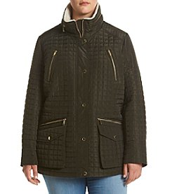 MICHAEL Michael Kors® Plus Size Quilted Anorak Coat
