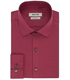 REACTION Kenneth Cole Men's Slim Fit Spread Collar Dress Shirt