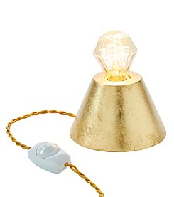 W Luminaries 24K Leaf Bling Lamp