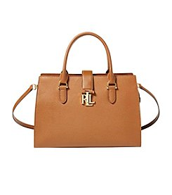 Lauren Ralph Lauren® Leather Medium Brigitte II Satchel