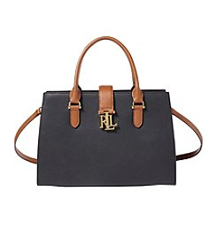 Lauren Ralph Lauren® Brigitte II Pebbled Leather Satchel