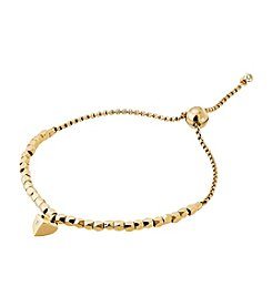 Michael Kors® Goldtone Heart Slider Bracelet.