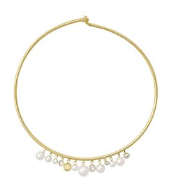 Michael Kors® Simulated Pearl Collar Necklace