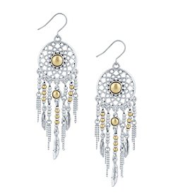 Lucky Brand® Dream Catcher Drop Earrings