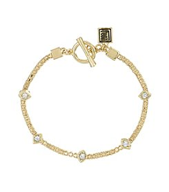Laundry® Crystal Station Bracelet