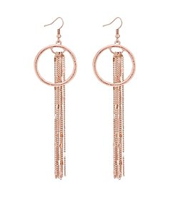GUESS Multi Chain Drop Earrings