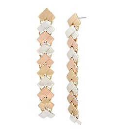 Robert Lee Morris Soho™ Chevron Linear Earrings