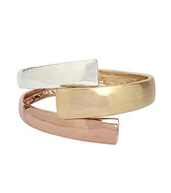 Robert Lee Morris Soho™ Tri Tone Bypass Bangle