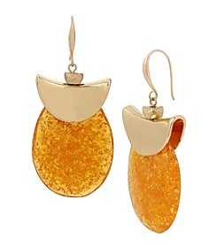 Robert Lee Morris Soho™ Amber Drop Earrings