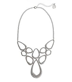 Erica Lyons® Scratch Pad Bib Necklace