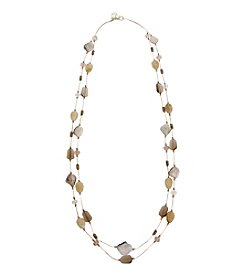 Erica Lyons® She's A Natural Long Illusion Necklace