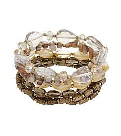 Erica Lyons® She's A Natural 7 Piece Stretch Bracelet