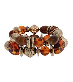 Erica Lyon® Slow And Steady Two Piece Stretch Bracelet