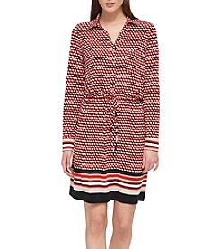 Tommy Hilfiger® Printed Knit Dress