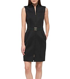 Tommy Hilfiger® Scuba Knit Zip Dress