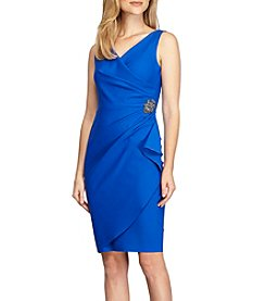Alex Evenings® Side Ruched V-Neck Dress