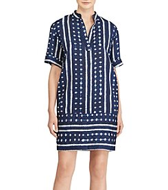 Lauren Ralph Lauren® Linen Blend Shift Dress