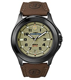 Timex® Men's Expedition® Metal Field Leather Watch