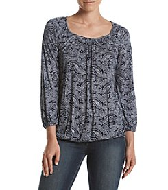 MICHAEL Michael Kors® Petites' Willow Peasant Top