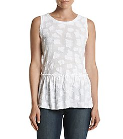 MICHAEL Michael Kors® Petites' Gathered Bottom Tank