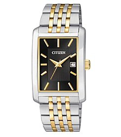 Citizen® Men's Two-Tone Bracelet Watch