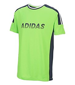 adidas® Boys' 2T-7 Short Sleeve Undefeated Climate Tee