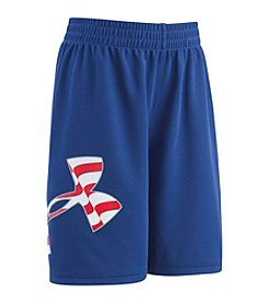 Under Armour® Boys' 4-7 Big Logo Americana Shorts