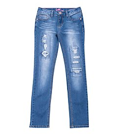 Lee® Girls' 7-16 Destruction Skinny Jeans
