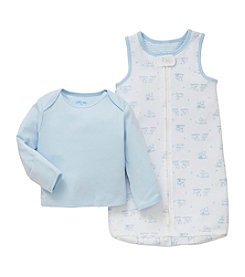 Little Me® Baby Boys' 2 Piece Cotton Sleep Bag Pajamas Set