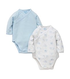 Little Me® Baby Boys' 2 Pack Wrap Bodysuits