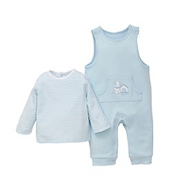 Little Me® Baby Boys' Pup House Overalls Set