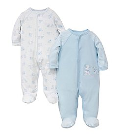 Little Me® Baby Boys' 2 Pack Footies