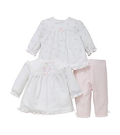 Little Me® Baby Girls' 2 Pack Tunic And Leggings Set